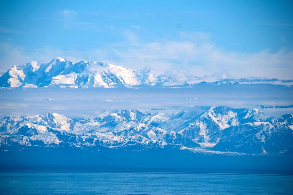 Eisberge in Alaska
